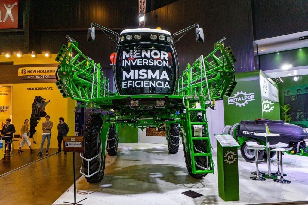 Metalfor estuvo presente en la Rural en Palermo.